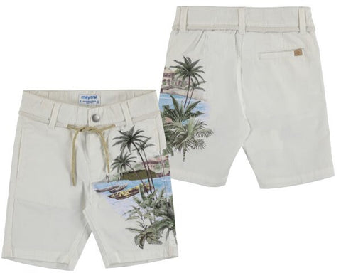 Mayoral 3224-95 Mini Boys Printed Shorts