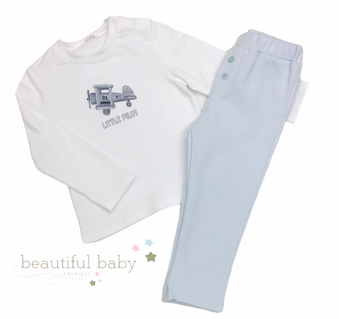 761-20 Gymp Light Blue Pants