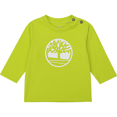 T05J41-60M Timberland Lime Long Sleeve T-Shirt