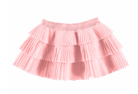 2901-13 Mayoral Baby Girls Pink Pleated Tulle Skirt 24m