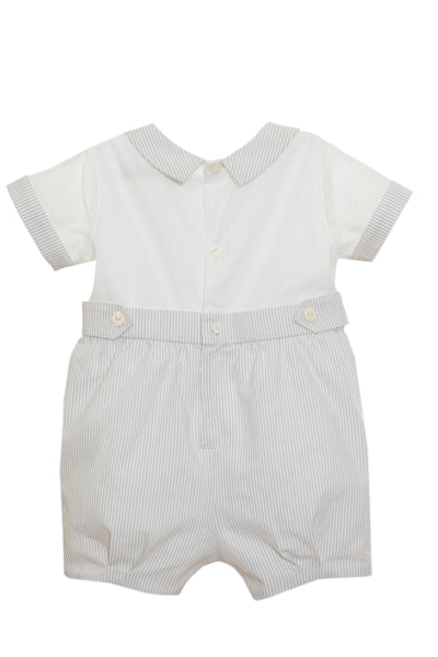 PAP3106  Patachou Baby Boy Romper   In Stock