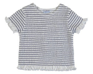 3008-22 Mayoral Mini Girls Ink S/s T-Shirt  In Stock