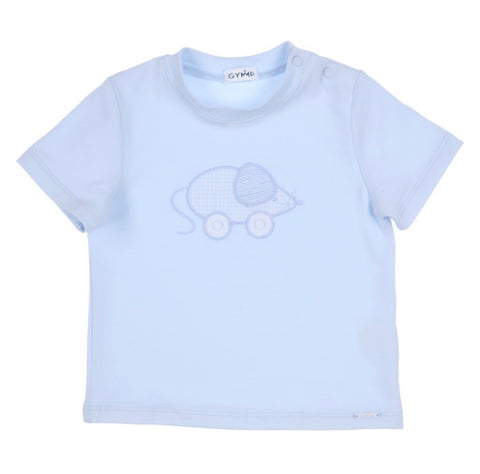 1095-20B Gymp Light Blue Little Mouse T-Shirt.   In stock