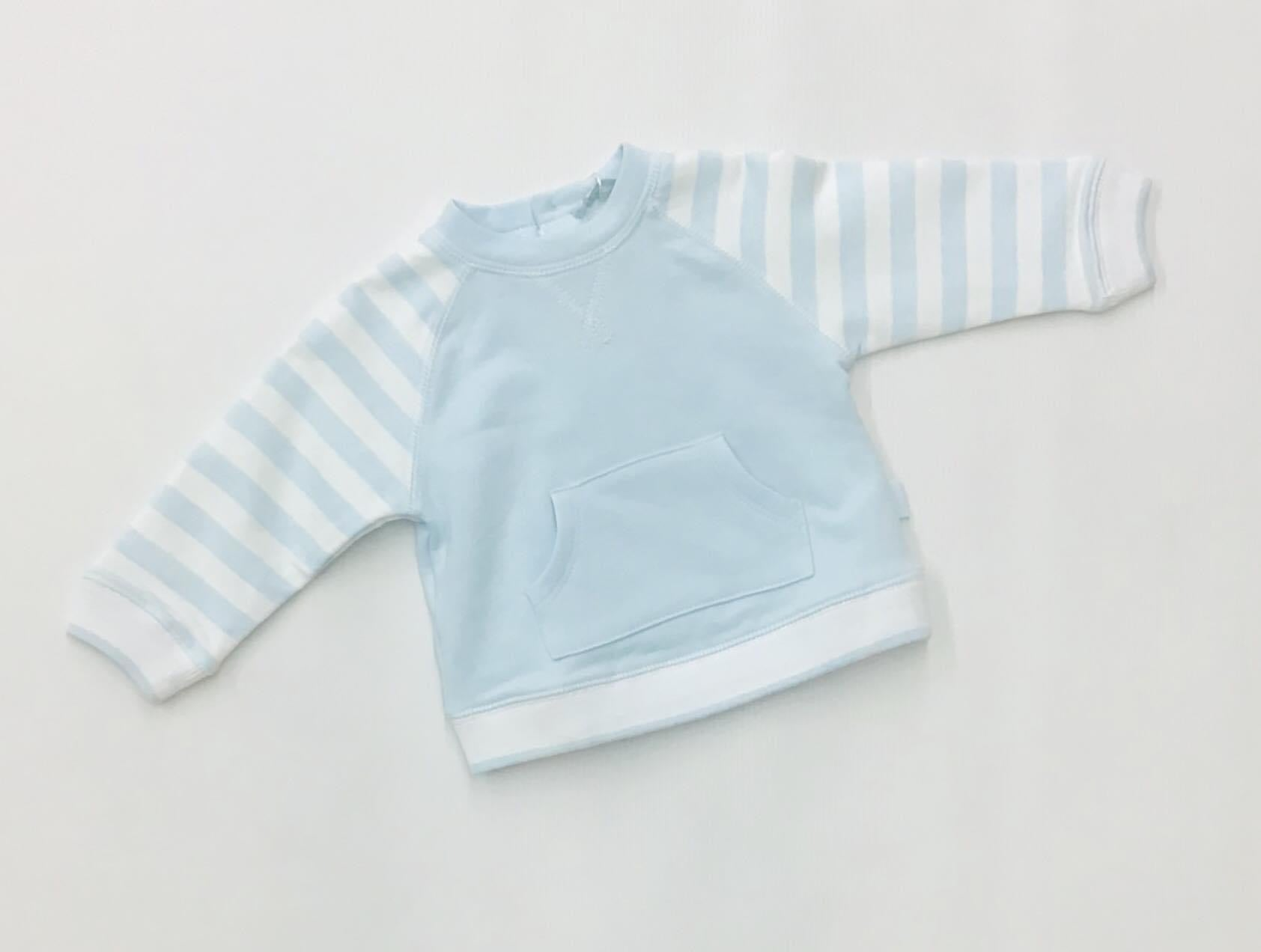 Tutto piccolo 7824 stripe detailed jumper 9m