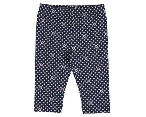 3732-38 Mayoral Mini Girls Navy Leggings in stock