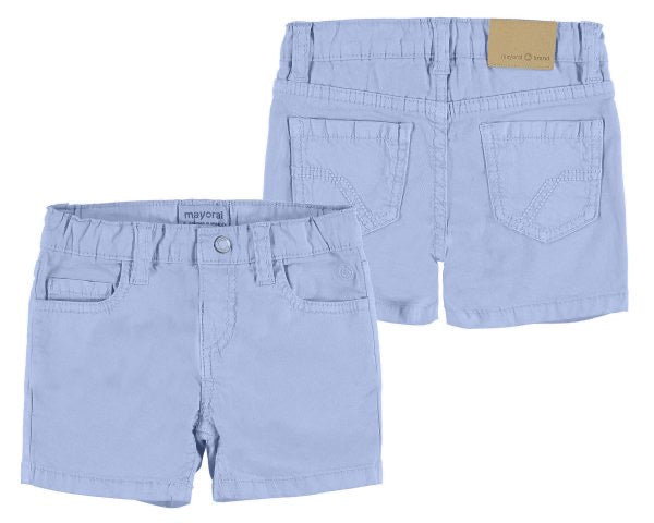 206-95 Mayoral Baby Boys Lavender Twill Shorts
