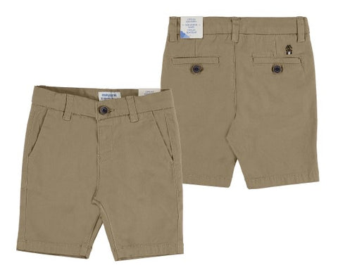 202-53 Mayoral Mini Boys Twill Chino Shorts