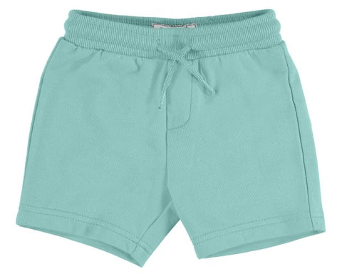 621-43  Mayoral Baby Boys Aqua Fleece Shorts in stock