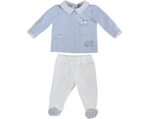 1564-15 Mayoral Layette Sky Gaiters Set
