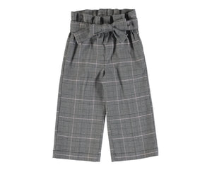 4553-25 Mayoral Mini Girls Grey Crop Trousers.  5yr