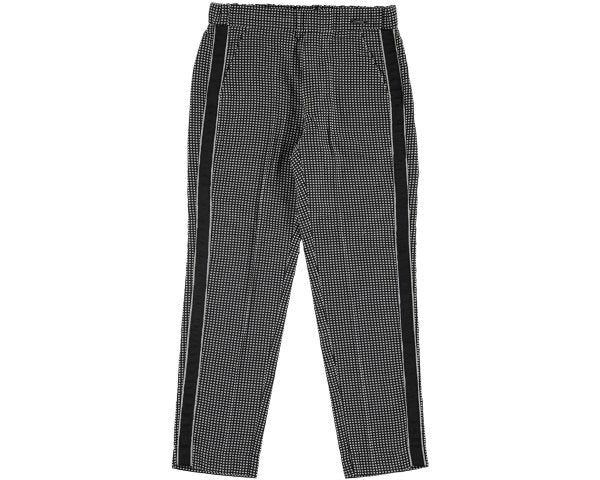 6506-3 Mayoral Jnr Girls Black Gingham Crop Trouser 12,14y
