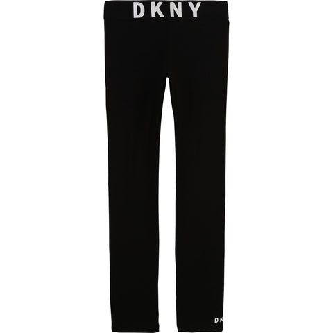 D34A09 DKNY Black Leggings