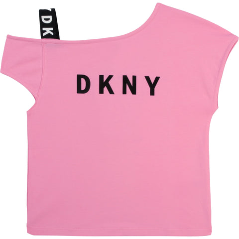 D35R44-44G DKNY Apricot Fancy T-Shirt