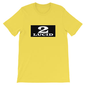 2LUCID Box Logo Short-Sleeve Unisex T-Shirt