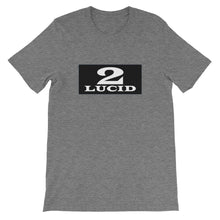 Load image into Gallery viewer, 2LUCID Box Logo Short-Sleeve Unisex T-Shirt