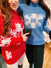 Load image into Gallery viewer, Snowflake Sweater