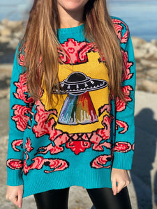 Spaced Out Sweater