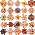 Classic Wooden Puzzle Brain Teasers - STEM of LIFE