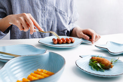 Ocean Style Ceramic Dinnerware - STEM of LIFE