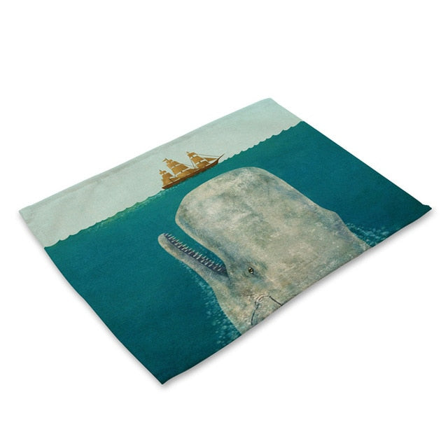 Ocean Themed Place Mats - STEM of LIFE