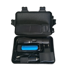 High Power LED Flashlight Set