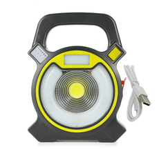 LED Portable Floodlight Lantern Outdoor Waterproof 4-Mode Emergency Spotlight Lamp
