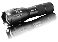 4000 Lumens LED Flashlight