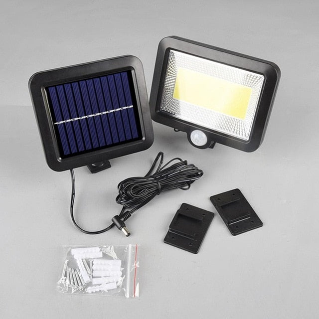 Outdoor Solar Motion Sensor LED Waterproof Garden Light