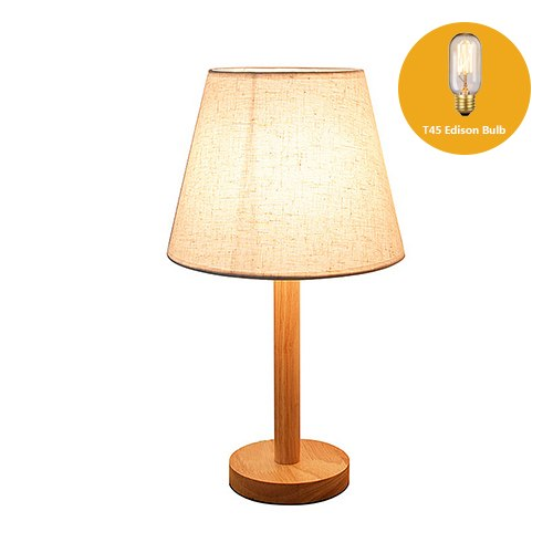 Country Style Wooden LED Table Lamp