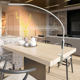 Long Arm Clip-On LED Table Lamp
