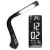 LED Desk Lamp with Touch Dimming and Alarm Clock
