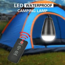 Portable 3-Mode Remote Control Waterproof LED Rechargeable Camping Lantern