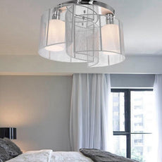 Glass LED Ceiling Light Fixture