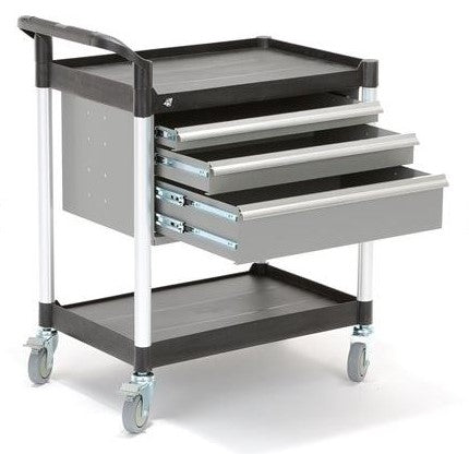 Instrument Trolley, 3 Drawer