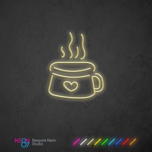 Load image into Gallery viewer, Coffee Lover Neon Light Sign