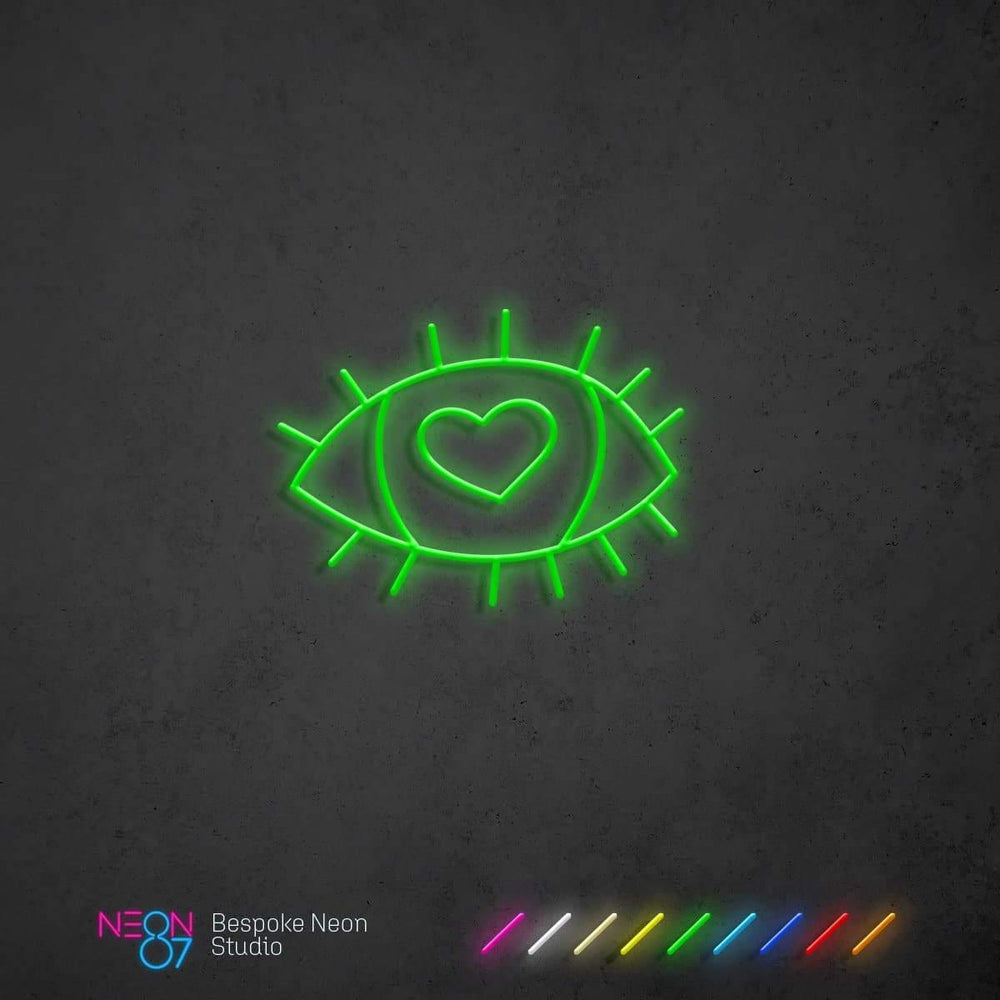Load image into Gallery viewer, Eyes On You Neon Light Sign