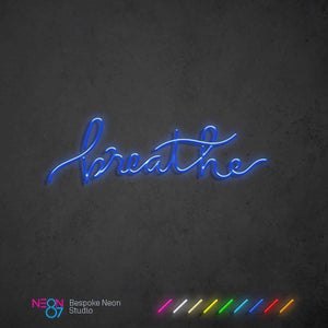 Load image into Gallery viewer, Breathe Neon Light Sign
