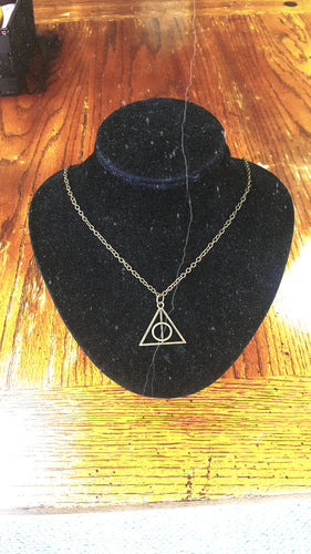 Harry Potter Deathly Hallows Necklace - The Crooked Corner