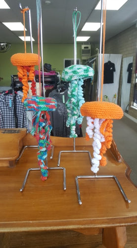 Crocheted Jellyfish - The Crooked Corner