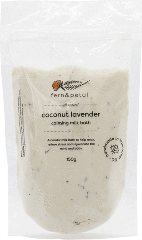 Coconut Lavender Milk Bath - The Crooked Corner