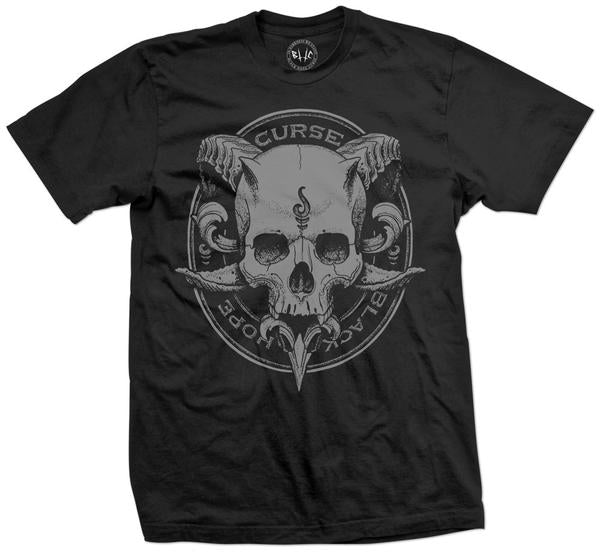 Face of Death Unisex T-Shirt by Julian Siebert - The Crooked Corner