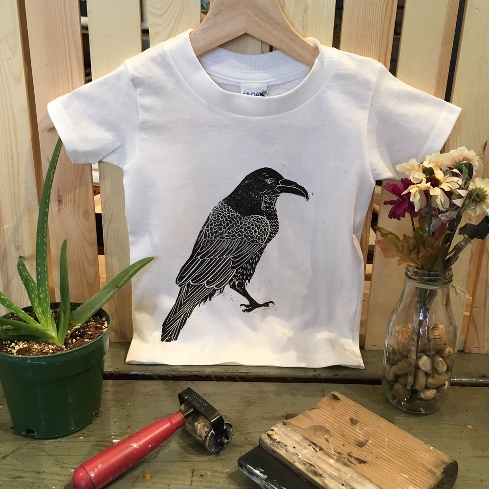 Raven Toddler Tee - The Crooked Corner