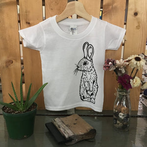 Bunny Toddler Tee - The Crooked Corner