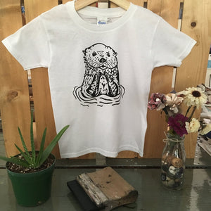 Otter Toddler Tee - The Crooked Corner