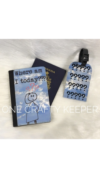 Where Am I Passport Holder and Tag - The Crooked Corner
