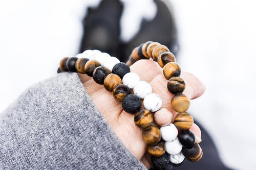 Men's Tiger's Eye Diffuser Bracelet - The Crooked Corner