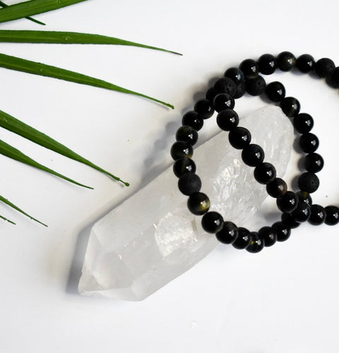 Men's Onyx Diffuser Bracelet - The Crooked Corner
