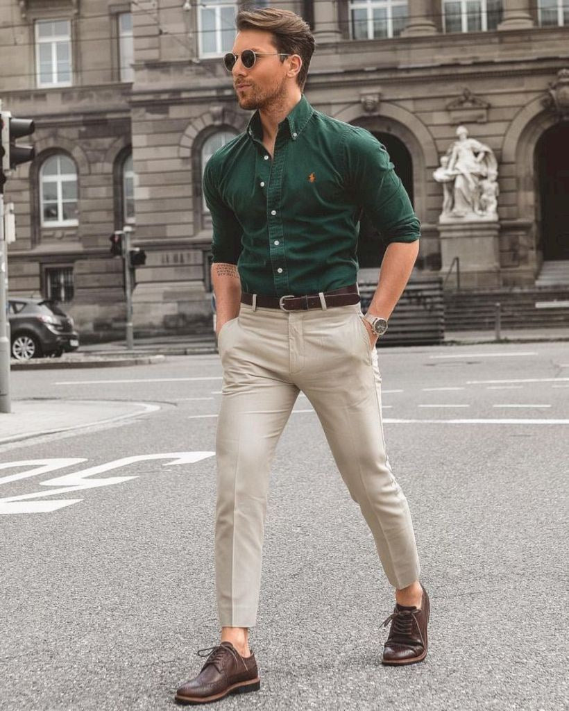 Mens stylish business casual new photo