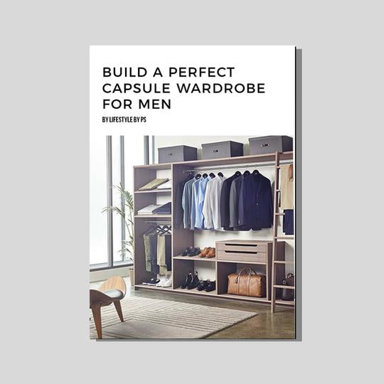 Capsule Wardrobe For Men (eBook)