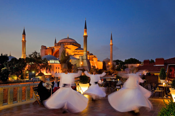 Whirling Dervishes, Hagia Sophia